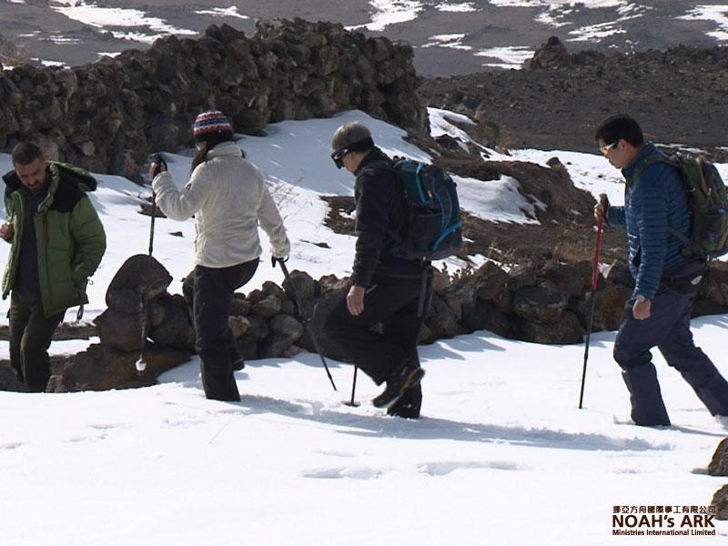 Descending Mt. Ararat