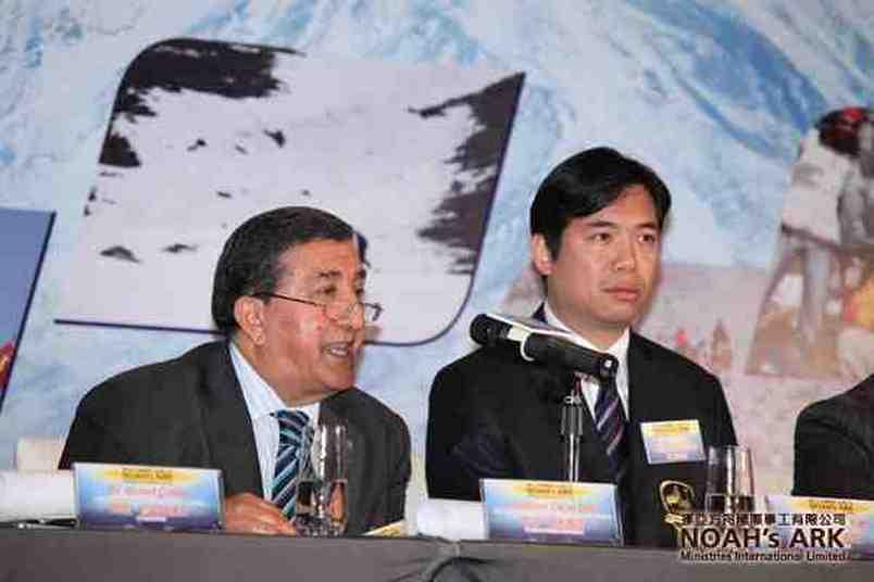 Professor Oktay Belli en Andrew - Man-Fai Yuen